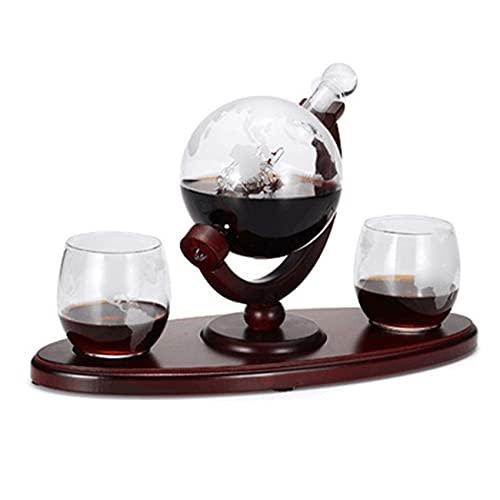 Juego de 2 copas de whisky con globo grabado para vino, cócteles, licor escocés HomeBar Bebidas Ser
