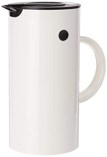 Stelton EM 77 Isolierkanne, Kaffeekanne, Kunststoff, weiss, 0.5 Liter