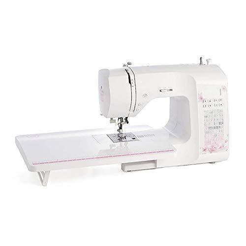 Daily Equipment Máquina de coser portátil para principiantes Máquina de coser con mesa de extensión Máquina de coser automática de escritorio gruesa con costura electrónica multifunción para el hog