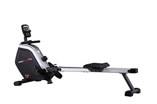 Body Coach Rudergerät Rower 28652 Ruderzugmaschine magnetischer 16fach Verstellbarer Widerstand Computer Rudermaschine klappbar
