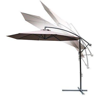 Generic Parasol Cantilever Café Jardin Patio Parapluie 3 m à Suspendre Banana Neuf < 1 & 1872 * 9 >