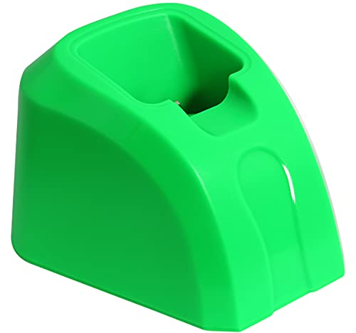 Kaynway Hair Clippers Charging Dock, Professional 2 in 1 Clipper Charging Stand Storage Station Base for Wahl Cordless 5-Star Magic Clip Senior Sterling-4 Clipper (Green)
