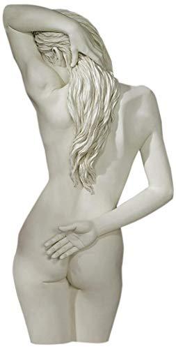 Design Toscano Süße Hingabe Wandfigur, 10 x 13 x 68,5 cm
