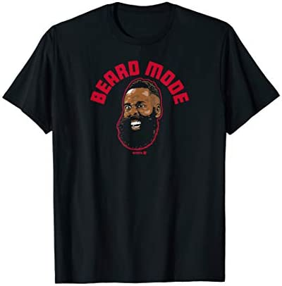 Officially Licensed James Harden Beard Mode T Shirt product image