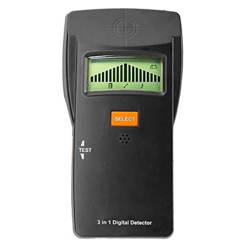 Adesign Scanner Wall Finder, Detector de Perno multifunción 3 en 1, Pantalla LCD HD, escáner de Pared electrónica para detección de Cables de Metal y CA de Madera