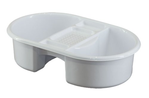 Vital Baby 496007 - Palangana para el baño, color blanco