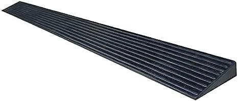 Rampa Discapacitados para discapacitados Rampas de acoplamiento antideslizante Silla de ruedas Cubierta cuesta arriba Servicio de curvas multifunción (Size : 98 * 8 * 2CM)