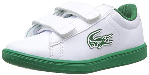 Lacoste Unisex-Kinder Carnaby Evo 319 1 Sui Sneaker, Weiß (White/Green 082), 23 EU