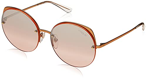 Vogue 0VO4081S Gafas de Sol, Rose Gold, 55 para Mujer