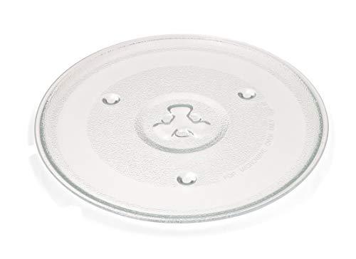 Plato microondas 27 cm apto para varias marcas.