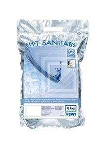 BWT Sanitabs Nr.094241 2-Phasen Enthärtertabs für Hygiene-Regeneration