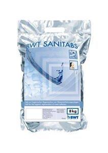 BWT Sanitabs Nr.094241 2-Phasen Enthärtertabs für Hygiene-Regeneration
