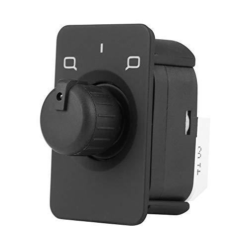 Interruptor de control de espejo lateral negro de 10 pines Botón de perilla de control del interruptor de espejo lateral Audi para Audi A3 8L1 A6 4B C5 1997-2004 4B0959565A