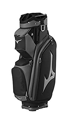 Mizuno Pro Cart Bag, Black/Charcoal