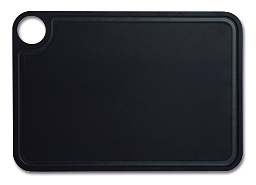 Arcos 692110 Planche à Découper Rigole, Bois, Noir, 28,75 x 20 x 20 cm