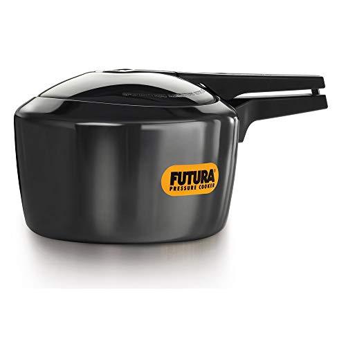 Futura Hard Anodised Pressure Cooker, 3 Litre, Black (FP30)