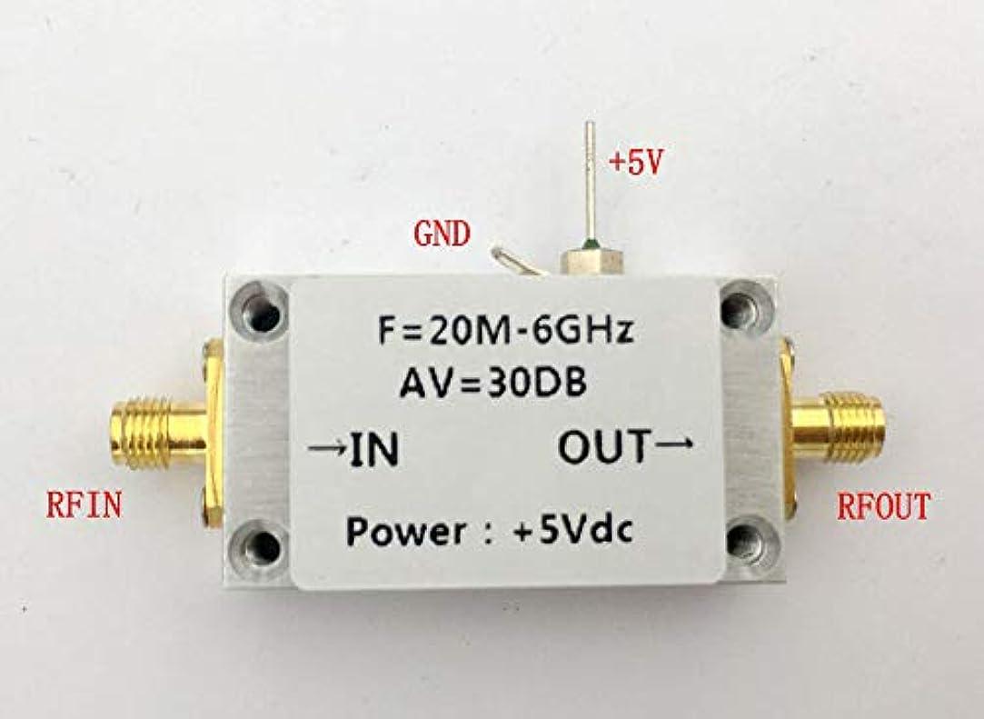 モニカ残酷ティームFidgetGear 20?6000 MHz z 6 GHz RF広帯域アンプ30 + dB低ノイズLNA広帯域モジュール50 mW