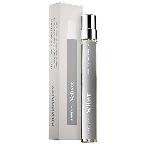 Commodity VETIVER Travel Spray EDP Eau de Parfum 0.33 ounce (0.33 Ounce Edp Spray)