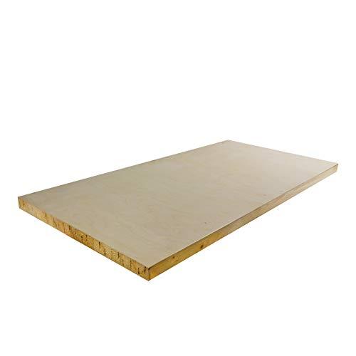 DEMA Holzplatte für Werkbank 120 cm