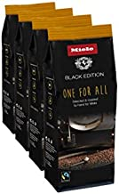 Miele Black Edition One For All Hand-Selected & Hand-Roasted Whole Coffee Beans - USDA Organic, Fair Trade Certified - 8.8 oz (250g)