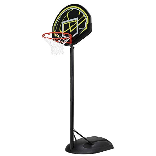 Lifetime 90644 32' Youth Portable Basketball Hoop, Lime/Black