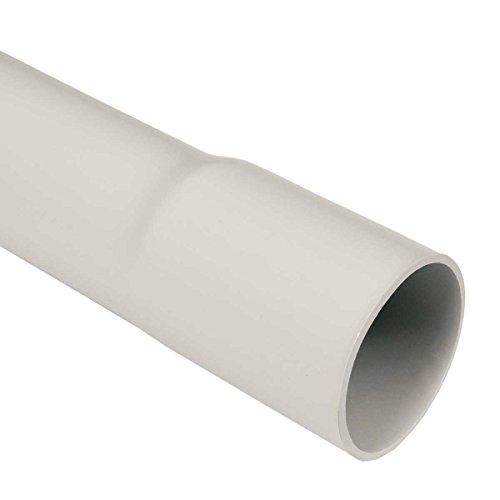 20m M16 16mm Kopos Elektrorohr Stangenrohr Leerrohr Elektrokabel-Rohr gemufft hellgrau PVC NEU