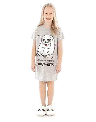 HARRY POTTER Vestido Nocturno Hedwig Hogwarts Niños de Chica Niños Nightgown 11-12 años