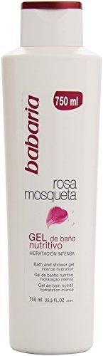 Babaria -  Rosa Mosqueta -  Gel de baño nutritivo -  750 ml (8410412059510)
