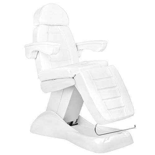Lux - Camilla de masaje (eléctrica, 4 m), color blanco