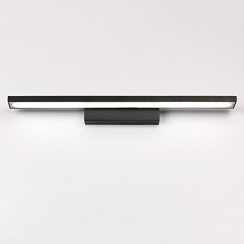 Led Mirror Front Lampe Wasserdicht Feuchtigkeitsfeste Badezimmer Kreative Nordic Einfache Aluminium Licht ( farbe   Weies Licht-60 )