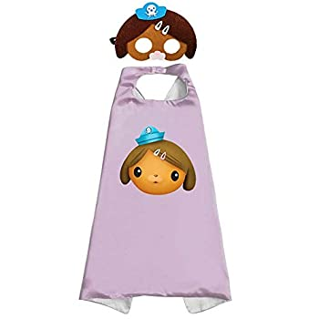 1 Sets Octonauts Mask Cape Cloak Dashi Cosplay Birthday Gifts Christmas Halloween Party Decoration Kids Toy