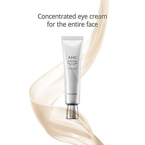 31yRUWaE8rL - Aesthetic Hydration Cosmetics AHC Face Moisturizer Essential Eye Cream for Face Anti-Aging Hydrating Korean Skincare 1.01 oz
