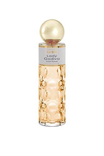 PARFUMS SAPHIR Lady Godiva Eau de Parfum con vaporizador para Mujer, 200 ml
