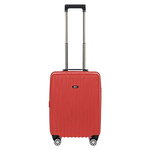 Bric's Cervia - Maleta de cabina rígida (55 cm), color rojo 019 Red 55
