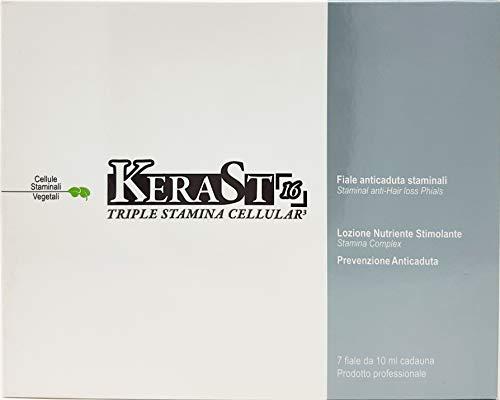 Lozione Anticaduta per Capelli Con Triple Cellule Staminali Vegetali alla KeraSt 7 Fiale