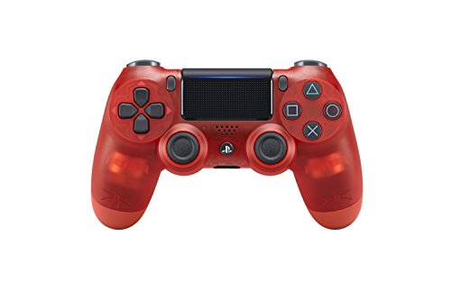 PlayStation 4 - DualShock 4 Wireless Controller, Red Crystal