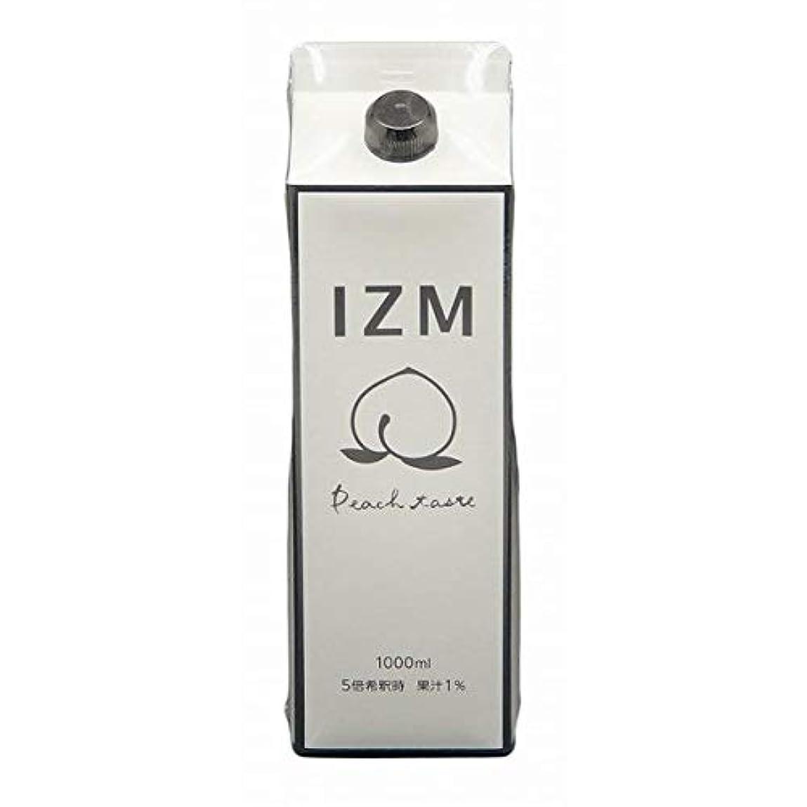 来て方向クローゼット酵素ドリンク IZM ピーチテイスト 1000ml