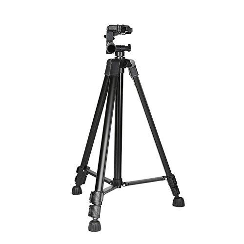 LITINGT Trípode de aleación de Aluminio Estabilizador de cámara portátil Plegable Todo el Soporte óptico Mini (Color: 1)