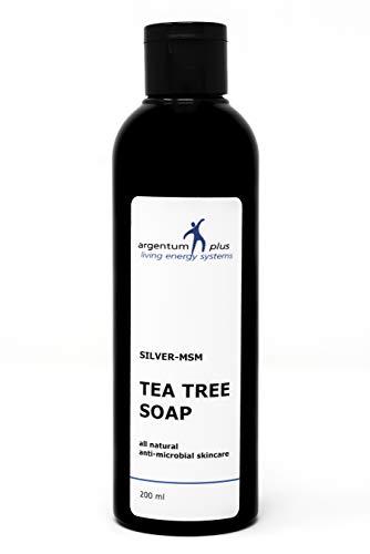 Savon Liquide au Tea Tree Argent-MSM - Contenance : 200 ml