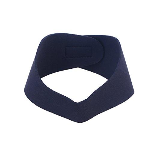 BESPORTBLE Schwimmen Stirnband Neopren Einstellbare Yoga Tauchen Ohren Schutz Haarband für Kinder Erwachsene (Schwarz M)
