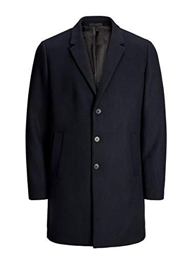 Jack & Jones JJEMOULDER Wool Coat STS Abrigo, azul marino, L para Hombre