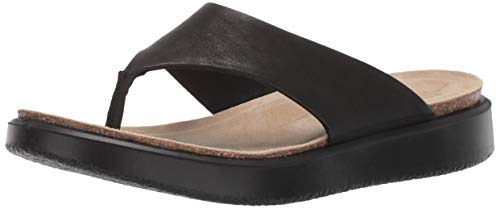 ECCO Damen CORKSPHERESANDAL Pantoffeln, Schwarz (Black 1001), 41 EU