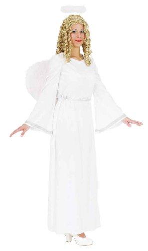 Orlob Engel Damen Kostüm weißsilber als Christkind zu Weihnachten Gr.36/38