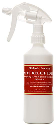 Biteback Products 'Sweet Relief' Beruhigende Lotion für Juckende Hunde 500ml Spray