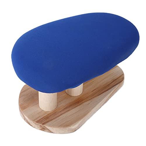 KASD Planchado De Mesa, Tabla De Planchar Duradera con Material De Madera De Pino para Salas De Manualidades(Taburete de Planchar Cuadrado)