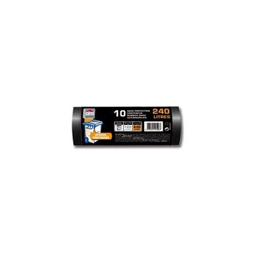 Générique Sacs Poubelle/conteneur 240 L x 10 (en Rouleau)