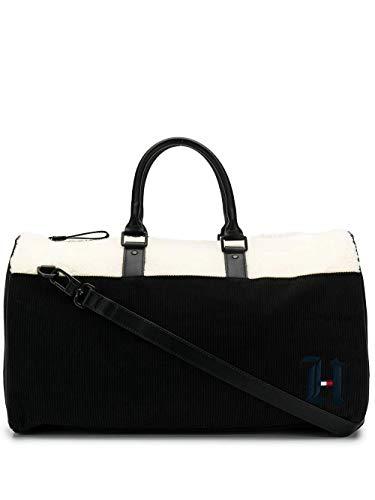 Luxury Fashion | Tommy Hilfiger Heren AM0AM05376BDS Zwart Polyester Reistassen | Herfst-winter 19