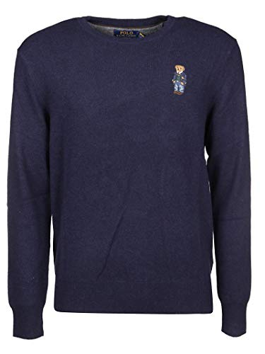 Luxury Fashion | Ralph Lauren Heren 710763451001 Donkerblauw Wol Truien | Herfst-winter 19
