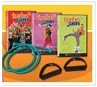 Beachbody Turbo Jam Fat Burning Elite 5 Workouts + 2 Bands : Cardio Party Mix 3 Cardio Party Mix 3t Fat Blaster and Lower Body Jam