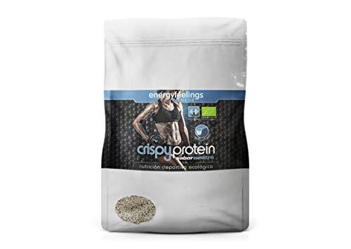 Energy Feelings Crispy Protein ecológico - 400g | proteina 40% | fibra 18% | máxima calidad